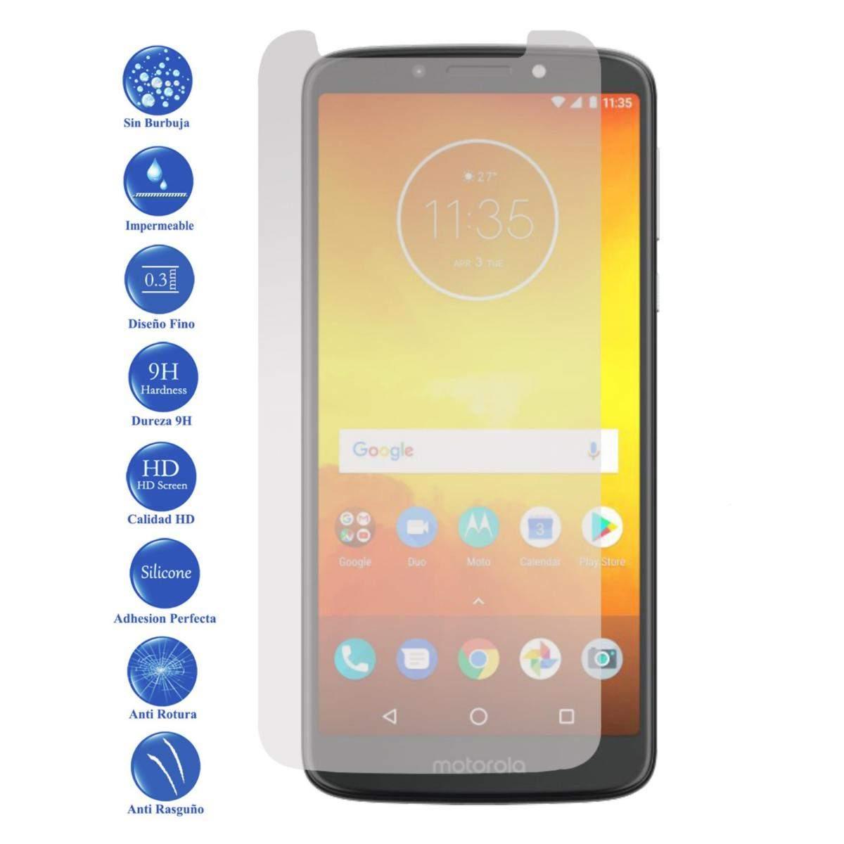 Lote Protector de Pantalla Cristal Templado Vidrio 9H para Motorola Moto E5