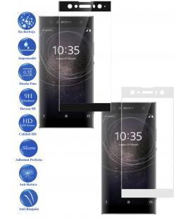 Protector de Cristal Templado Completo 3D 9H para Xperia XA2 Ultra Elige Color