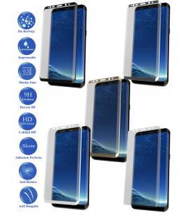Protector de Cristal Templado Completo 3D 9H para Samsung Galaxy S9 Elige Color