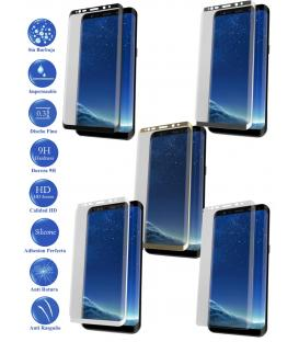 Protector de Cristal Templado Completo para Samsung Galaxy S9 Plus Elige Color