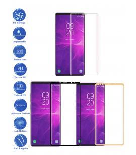 Protector de Cristal Templado Completo 9H para Samsung Galaxy Note 9 Elige Color