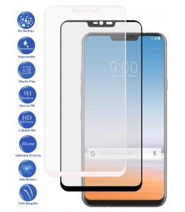 Protector de Cristal Templado Completo 3D 9H para LG G7 Elige Color