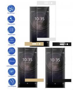 Protector de Cristal Templado Completo 3D 9H para Sony Xperia XA Elige Color