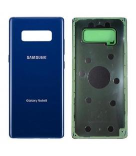 Tapa trasera de bateria cristal trasero para Samsung Galaxy Note 8 Azul