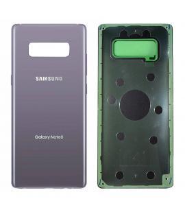 Tapa de bateria cristal trasero para Samsung Galaxy Note 8 Morado Back Cover