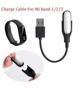 Cable USB carga y sincronización 0.15 Metros para pulsera Xiaomi MI Band 1 2 3