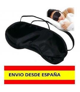 Antifaz Negro Mascara para Dormir Relajarse Viajar Tren Avion Cama DESDE ESPAÑA