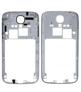 Repuesto Chasis Trasero Marco lateral para Samsung Galaxy S4 I9500 I9505 Plata