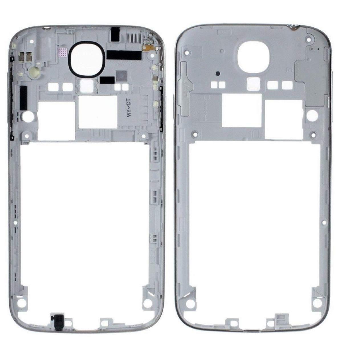 Repuesto Chasis Marco lateral para Samsung Galaxy S4 I9500 I9505 Plata