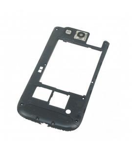 Repuesto Chasis Trasero Marco lateral para Samsung Galaxy S3 I9300 Negro