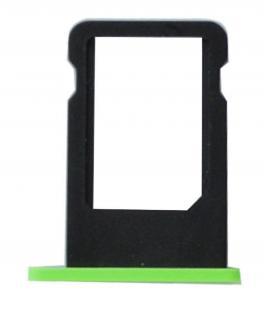 Bandeja de repuesto porta nano sim para iphone 5C soporte tarjeta color verde