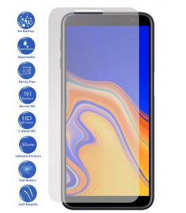 Protector de Pantalla Cristal Templado Vidrio 9H Premium para Galaxy J4 Plus