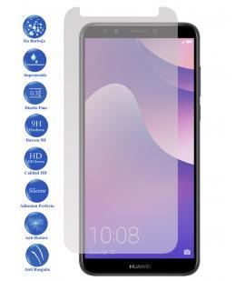 Protector de Pantalla Cristal Templado Vidrio 9H Premium para Huawei Honor 7C