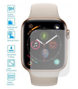 Lote Protector de Pantalla Cristal Templado para Apple Iwatch Series 4 44m