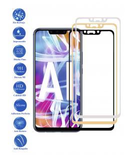 Protector de Cristal Templado Completo 9H para Huawei Mate 20 Lite Elige Color