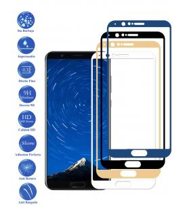 Protector de Cristal Templado Completo 3D 9H para Huawei View 10 Elige Color