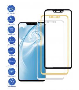 Protector de Cristal Templado Completo 9H para Huawei P Smart Plus Elige Color