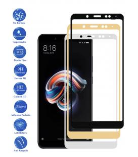 Protector de Cristal Templado Completo 9H para Xiaomi Redmi Note 5 Elige Color