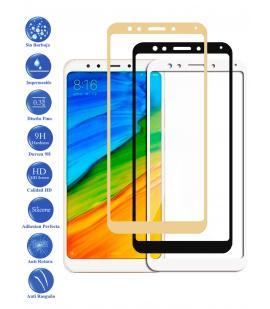 Protector de Cristal Templado Completo 9H para Xiaomi Redmi 5 Plus Elige Color