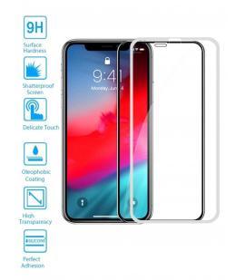 Protector de Cristal Templado Completo 3D 9H para Apple Iphone XR Elige Color
