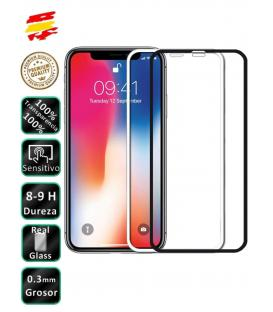 Protector de Cristal Templado Completo 3D 9H para Apple Iphone XS Elige Color