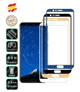 Protector de Cristal Templado Completo 3D 9H para Huawei Honor V10 Elige Color