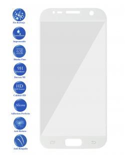 Protector de Cristal Templado Vidrio Completo 3D para Samsung Galaxy S7 Blanco