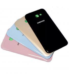 Tapa trasera de bateria cristal trasero para Samsung Galaxy A3 2017 Elige color
