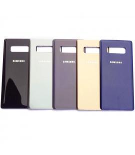 Tapa trasera de bateria cristal trasero para Samsung Galaxy Note 8 Elige color