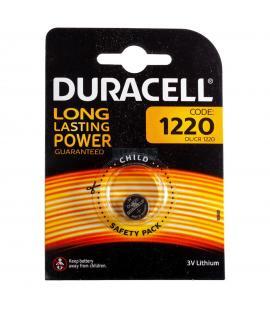 Pila de boton Duracell bateria original Litio CR1220 3V en blister 1X Unidad