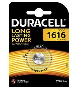 Pila de boton Duracell bateria original Litio CR1616 3V en blister 1X Unidad
