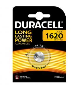 Pila de boton Duracell bateria original Litio CR1620 3V en blister 1X Unidad