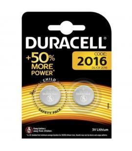 Pilas de boton Duracell bateria original Litio CR2016 3V en blister 2X Unidades