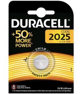 Pila de boton Duracell bateria original Litio CR2025 3V en blister 1X Unidad