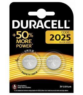 Pilas de boton Duracell bateria original Litio CR2025 3V en blister 2X Unidades