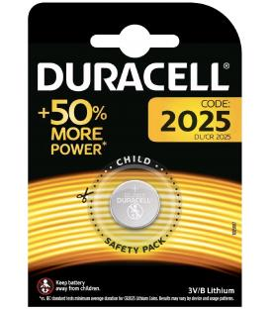 Pila de boton Duracell bateria original Litio CR2032 3V en blister 1X Unidad