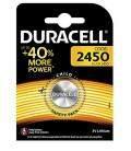 Pilas de boton Duracell bateria original Litio CR2450 3V en blister 2X Unidades