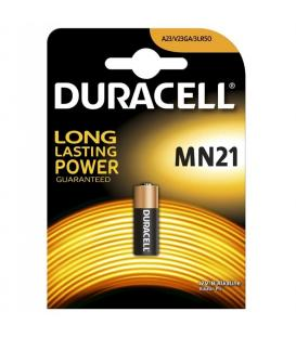 Pila Duracell bateria original Alcalina Especial MN21 12V en blister 1X Unidad