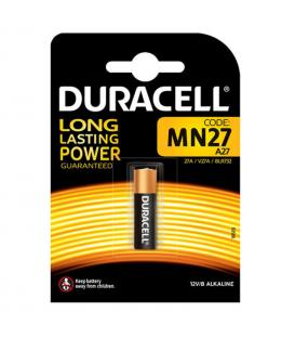 Pilas Duracell bateria original Alcalina Especial MN27 12V blister 10X Unidades