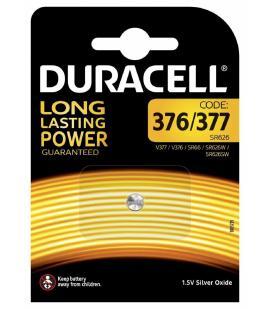 Pila de boton Duracell bateria original Oxido de Plata SR626SW blister 1X Unidad