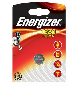 Pilas de boton Energizer bateria original Litio CR1620 3V blister 10X Unidades