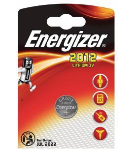 Pilas de boton Energizer bateria original Litio CR2012 3V en blister 5X Unidades