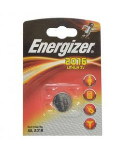 Pilas de boton Energizer bateria original Litio CR2016 3V blister 10X Unidades