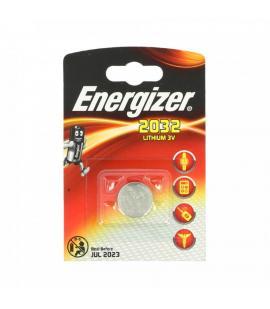 Pila de boton Energizer bateria original Litio CR2032 3V en blister 1X Unidad