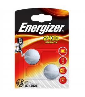 Pilas de boton Energizer bateria original Litio CR2430 3V en blister 2X Unidades