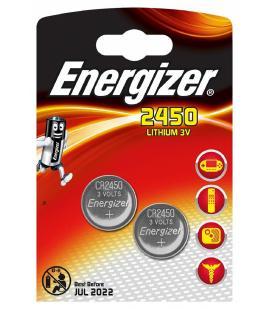 Pilas de boton Energizer bateria original Litio CR2450 3V en blister 2X Unidades