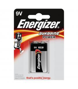 Pila Energizer bateria original Alcalina Petaca LR6 9V en blister 1X Unidad