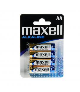 Pilas Maxell bateria original Alcalina Tipo AA LR6 en blister 4X Unidades