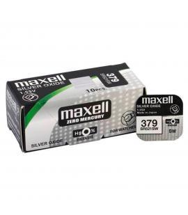 Pila de boton Maxell bateria original Oxido de Plata s521sw en blister 1X Unidad