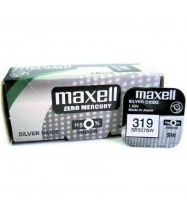 Pilas de boton Maxell bateria original Oxido de Plata SR527SW blister 10X Uds